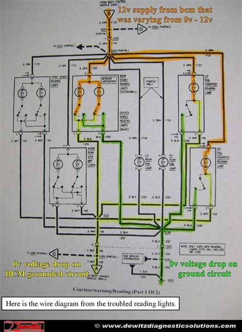 Buick Lesabre Interior Lighting Wire Diagram Dewitz
