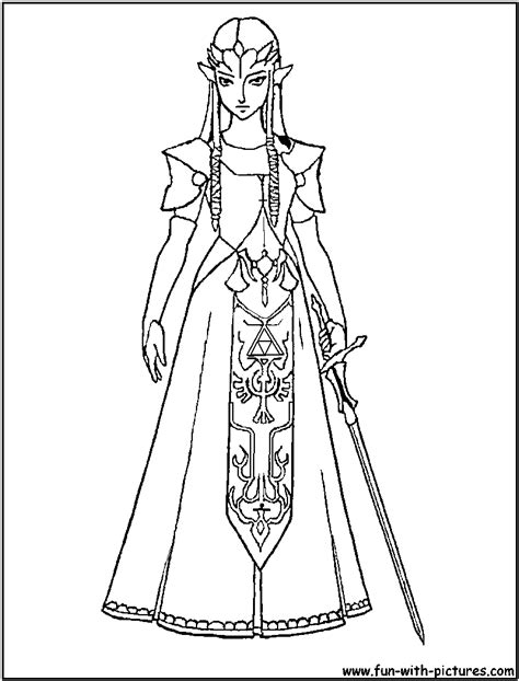 zelda coloring pages lineart zelda link coloring