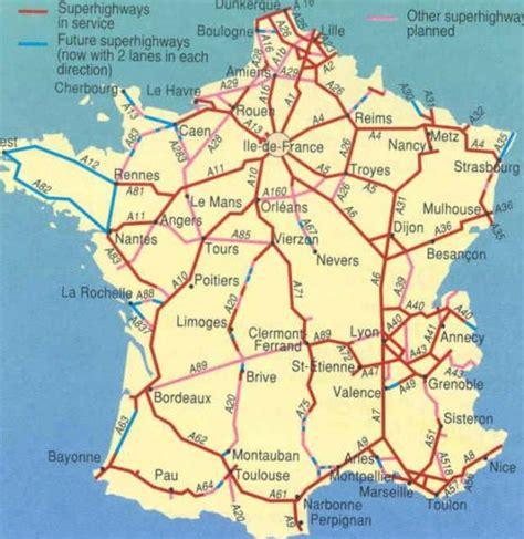 Carte Des Autoroutes Du Centre De La by La Cours 3 232 Me Mistral