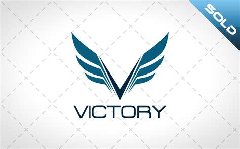 creative flight wings logo for sale letter v logo lobotz