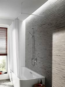 Duschvorhang U Form : duschvorhangstange edelstahl f r dusche badewanne ~ Sanjose-hotels-ca.com Haus und Dekorationen