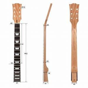 Elektrische Gitarre Hals F U00fcr Gibson Les Paul Lp Ersatz 22