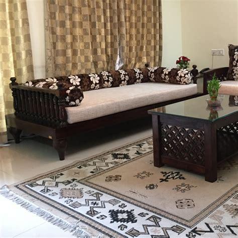 solid wood rajasthani sofa set sheesham wood furniture