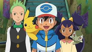 Pokemon Black And White Ash Iris And Cilan | www.pixshark ...