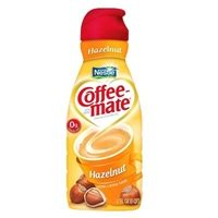 Creamy and richly satisfying, this popular flavor makes a tasty cup of coffee to start your morning off right! Nestle Coffee-Mate Coffee Creamer Hazelnut Allergy and ...