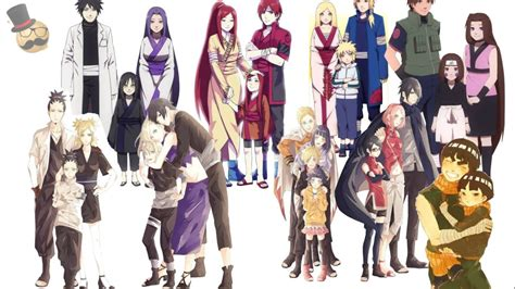 naruto characters family collection real fanart