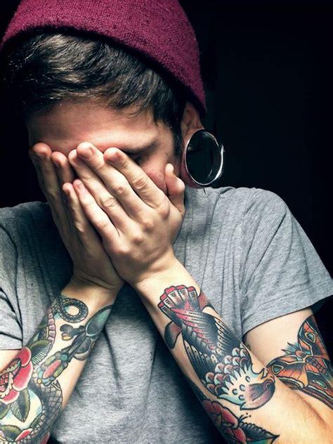 tears   angel piercings tattoos ink