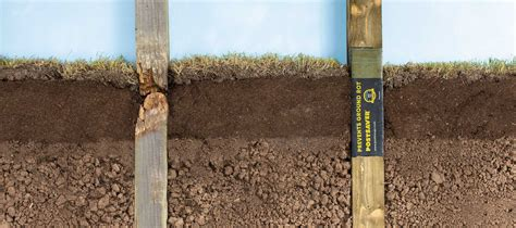 Why Do Wooden Fence Posts & Utility Poles Rot Through At ...