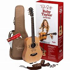 Taylor Taylor Swift Signature Baby Taylor Acoustic Guitar Pack Natural  Guitar Center