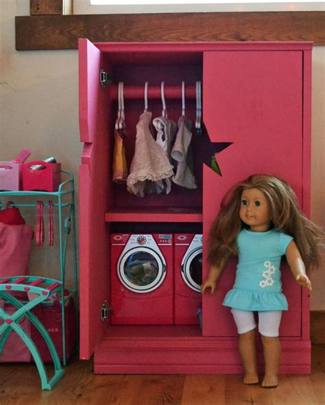 American Armoire Plans by White Doll Closet For American Or 18 Quot Doll