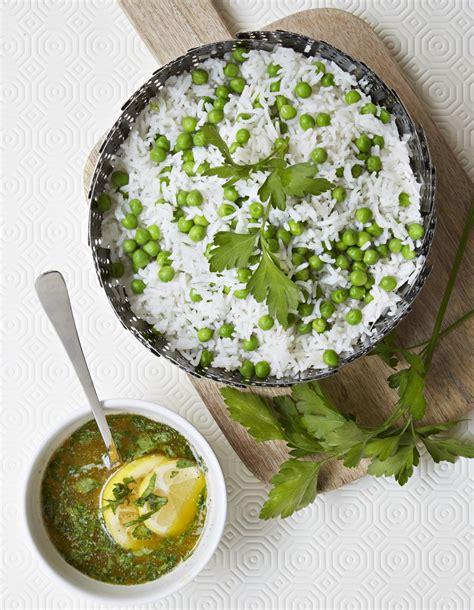 cuisine avec du riz riz aux petits pois et ras el hanout pour 4 personnes