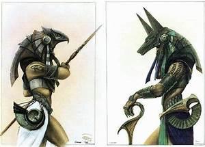 Horus and Anubis guard armor (Stargate).   Illustrations ...