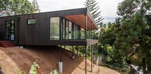 25a duncansby par iconic homes whangaparaoa nouvelle With maison contemporaine sur pilotis