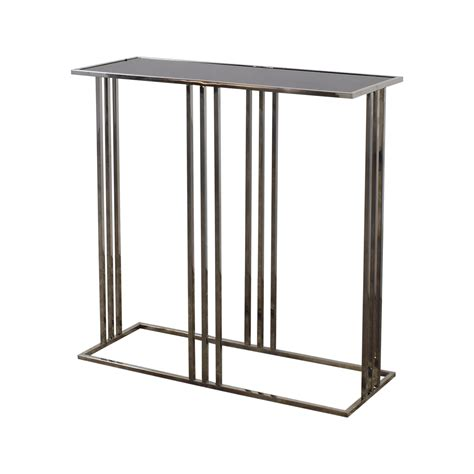 black and silver table ls 90 off homegoods homegoods black and silver entryway