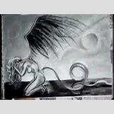 Fallen Angel Drawings | 480 x 360 jpeg 18kB