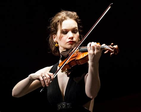 Violinist Hilary Hahn Shines At Uw World Series
