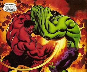 sexy she hulk   She Hulk and Red She Hulk by Orvilleart on ...