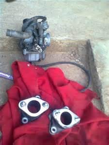Karburator Megapro Soak pasang manifold honda megapro pertamax7