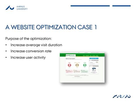 Website Optimization Definition - website optimization tuning for conversions