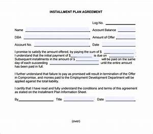 installment sales contract template bing With installment sale agreement template