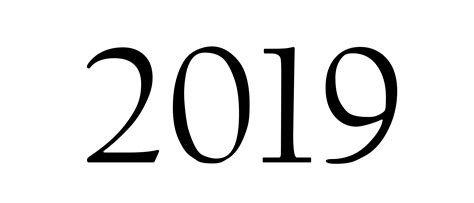 2019 Year Png Images Free Download