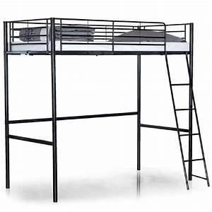 Lit Mezzanine Double : lit mezzanine 2 places pas cher lit mezzanine une ~ Premium-room.com Idées de Décoration