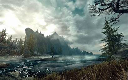 Skyrim Wallpapers Backgrounds Hq Windows Wallpapertag