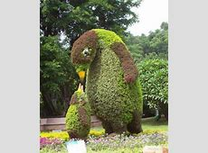 Topiary Design in Fun Animal Shapes