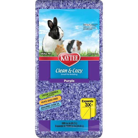 kaytee clean cozy purple small animal bedding petco