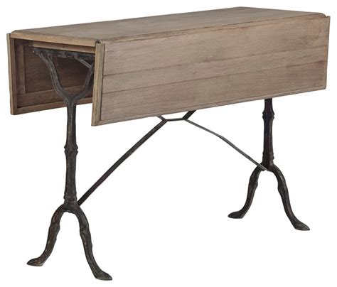 drop leaf sofa table hansel drop leaf table traditional console tables