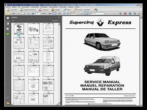 Renault Super 5 - Manual De Taller - Service Manual