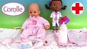 Bébé Corolle Youtube : corolle b b mon premier accessoires coffret du docteur youtube ~ Medecine-chirurgie-esthetiques.com Avis de Voitures