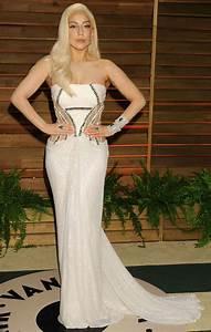 Lady Gaga Oscars 2014 Vanity Fair Party In West