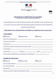 Msa Lisieux : modele certificat non opposition mariage document online ~ Gottalentnigeria.com Avis de Voitures