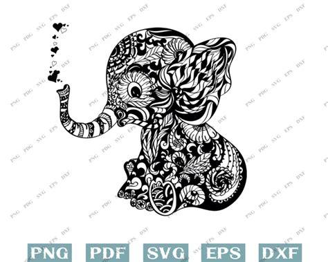 Animals are a wonderful subject to color. Elephant svg, elephants svg, animal svg, mandala svg ...