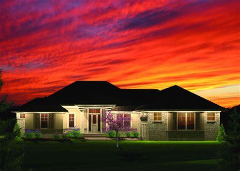 bedroom hip roof ranch home plan ah st floor master suite butler walk  pantry
