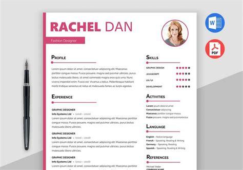 enrich  creative resume template  maxresumes