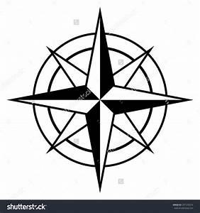 Simple Compass Rose Clip Art (77+)