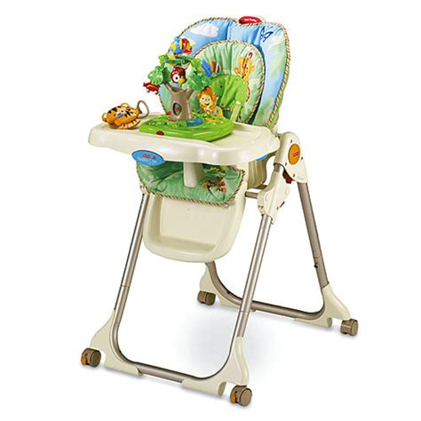rainforest healthy care high chair