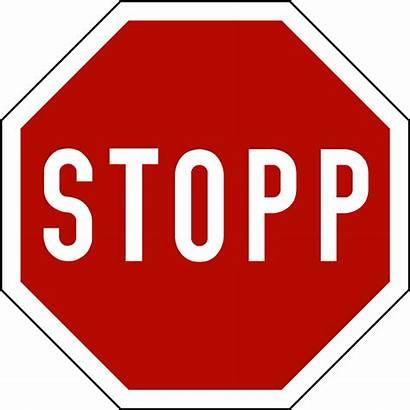 Svg Stopp Road Norwegian Clipart Regulation Emotions