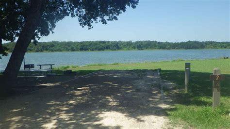 bonham state park campsites  water  electricity texas parks wildlife department