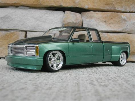 Chevy Trucks Models by Chevy Dually Custom Car Truck Scale Models