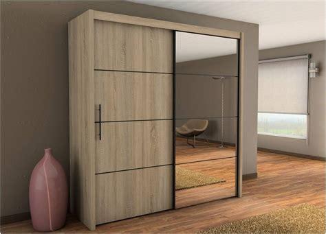 Wardrobe Cupboard by Inova Sliding Door Wardrobe Cupboard Oak Effect Furniture