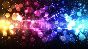 Light, Abstract, Multicolor, Vectors, Illuminated