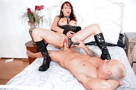 Femdom Mistress Nicki Hunter Dons Strapon To Train Her
