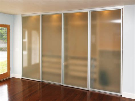 sliding glass closet doors frosted the sliding door co