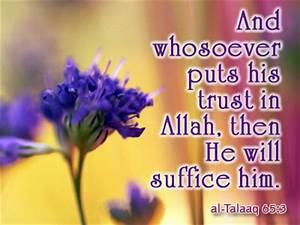 I AM YOUR MASTE... Allah Tawakkul Quotes