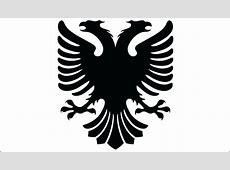 Albanian Vector Eagle Vectorish
