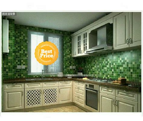 terkeren  model wallpaper dinding dapur richa wallpaper