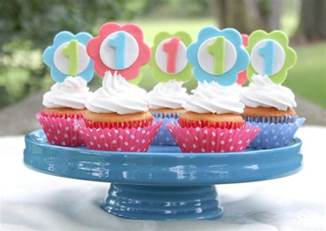 diy first birthday cupcake topper